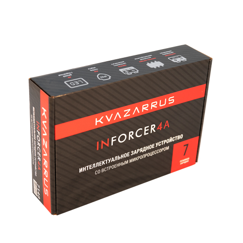 Зарядное устройство KVAZARRUS InForcer 4A