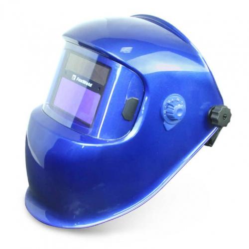 Маска сварщика FoxWeld Корунд 5, синяя, 2100V