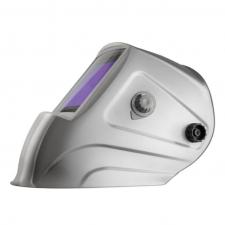 Маска сварщика GEFEST серебряная с фильтром 9700V