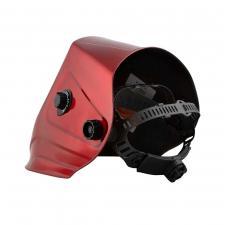 Маска сварщика GEFEST красная с фильтром 9500V