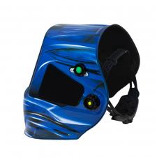 Маска сварщика FoxWeld Корунд МЕГА, синяя