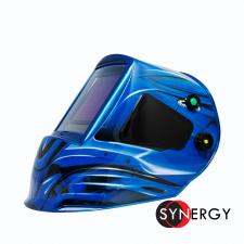 Сварочная маска КОРУНД МЕГА, синяя